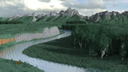 Grand Teton National Park (6k x 6k) Minecraft Map & Project