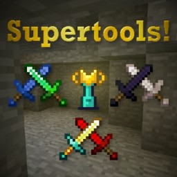 [Forge] [1.14 - 1.16] Super Tools Mod (Tools + Armor from existing Materials & brand new Super Tools!) Minecraft Mod