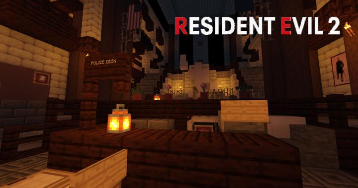 resident evil 2 remake rpd map