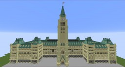 The Canadian Parliament - To Scale Minecraft Map & Project