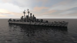 USS Des Moines (CA-134) Minecraft Map & Project
