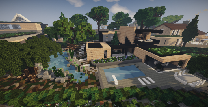 Modern House N°3 Minecraft Project
