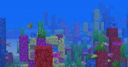Seed: Coral Reef @Spawn Minecraft Map & Project