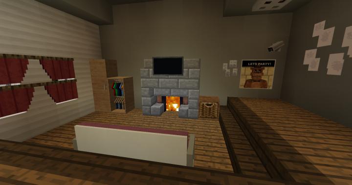Living Room 2nd Map TJOC