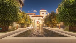 Arabian Town Center Minecraft Map & Project
