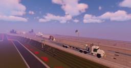 1.5:1 Scale  Peterbilt 379 truck and Fuel Tanker Trailer Minecraft Map & Project