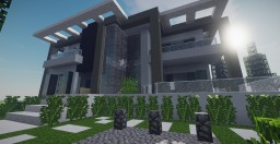 Modern Mansion 3 Minecraft Map & Project
