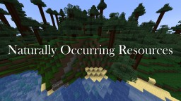 Naturally Occurring Resources Minecraft Texture Pack
