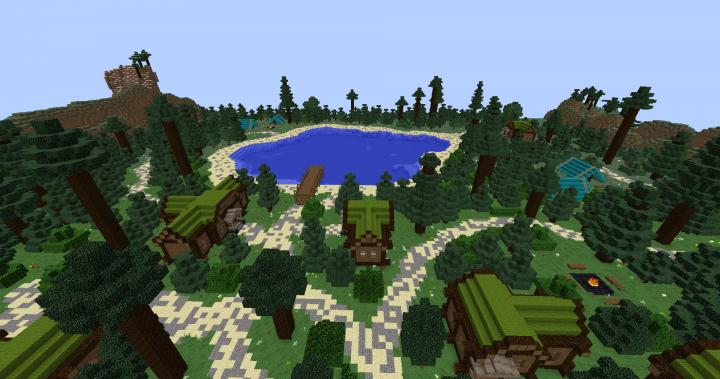 Crystal Lake 3rd Map
