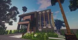 Modern Mansion 4 Minecraft Map & Project