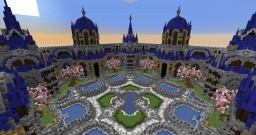 Factions Survival Server Spawn Minecraft Map & Project