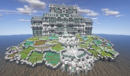 Angelic Water Mansion Minecraft Map & Project