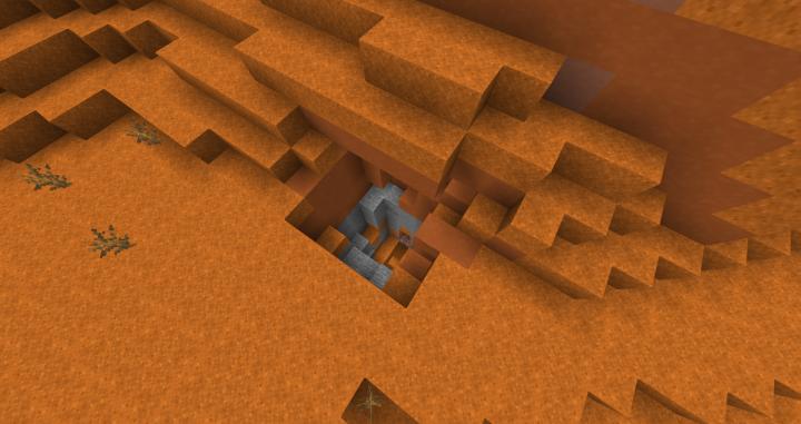 Entrance to a Mesa Husk Dungeon