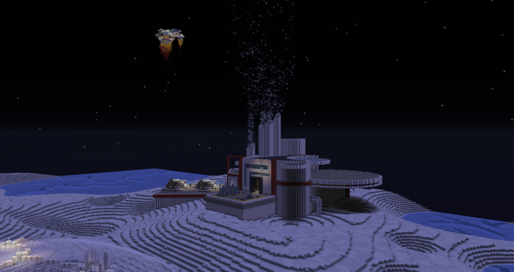 The crystal treatment facility