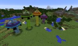 UFO Invasion Minecraft Map & Project
