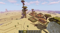 start your adventure near a sand castle and prison Minecraft Map & Project