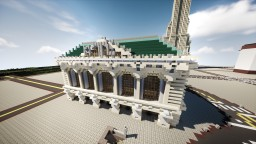 The Main Terminal of Limettan (Building) | New Limesville City | State of New Limesville | United Citrus States Minecraft Map & Project