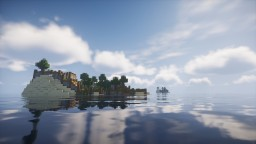 Central Ocean Survival Adventure Map 1.14 Minecraft Map & Project