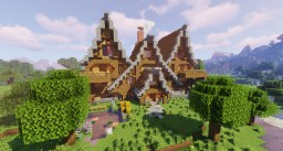 Harley's Hall 2.0 (Fully Furnished) Minecraft Map & Project