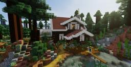 My Survival Mega Taiga Cabin Minecraft Map & Project