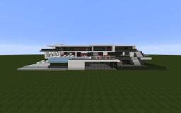 Ultra Modern Mansion 2 Minecraft Map & Project