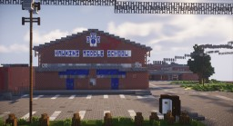 One of my old projects - Stranger Things / Hawkins middle school Minecraft Map & Project