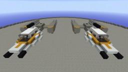 Y-wing | BTL-S3 & BTL-A4 Starfighter Minecraft Map & Project
