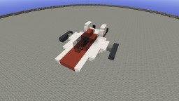 A-wing | RZ-1 Interceptor / Starfighter Minecraft Map & Project
