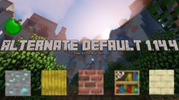 Alternate Default 1.14.4 V3 Minecraft Texture Pack