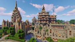 Medieval Themed Estate [Download Added] Minecraft Map & Project