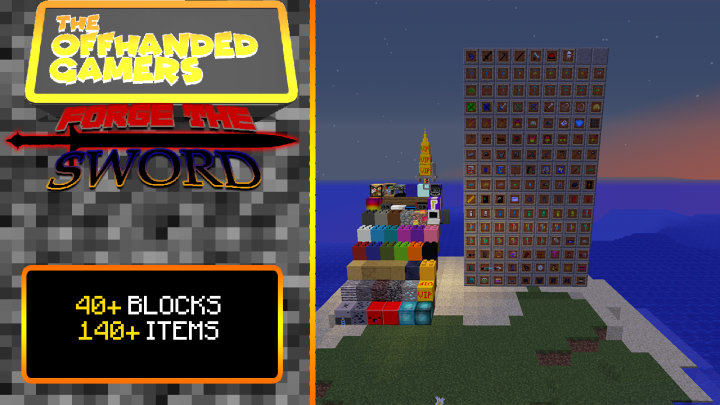 40 Blocks & 140 Items?! What else could you possibly need?!