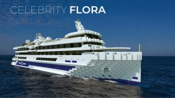 Celebrity Flora - Celebrity Cruises Replica  [+Download] Minecraft Map & Project