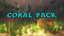 Petoline's Coral Pack Minecraft Map & Project