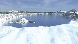 Crater Lake (4k x 4k) Minecraft Map & Project