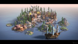 Cute village Minecraft Map & Project