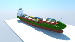 Elbcarrier (1:1 Scale Container Ship) Minecraft Map & Project