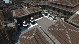 Snowy Kingdom Rich Residential District Minecraft Map & Project