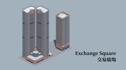 Exchange Square Minecraft Map & Project