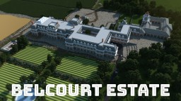 Belcourt Estate - Chateau Style Mansion Victorian Manor Minecraft Map & Project