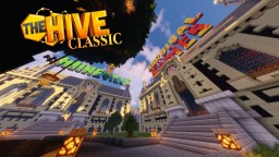 HiveMC / TheHive Classic Lobby -  1:1 replica  (HiveMC old hub lobby 2013) - DOWNLOAD Minecraft Map & Project
