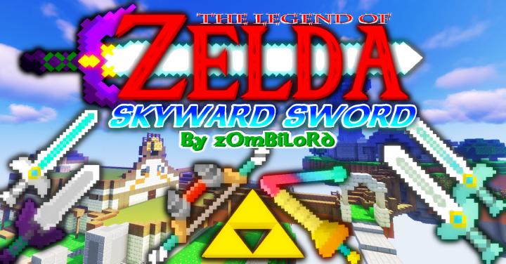 The Legend of Zelda: Skyward Sword Resource Pack [Blocks N