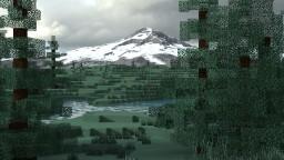 Mount Hood (3k x 3k) Minecraft Map & Project