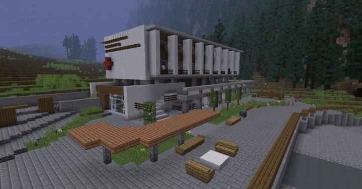-  Hospital and sanatorium
