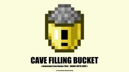 Cave Filling Bucket (Datapack 1.14+) Minecraft Data Pack
