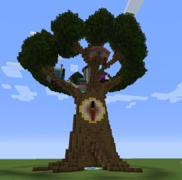 Timekeeper's Treehouse Minecraft Map & Project