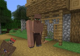 『CURSED』Ripped Villagers Iron Golems -Ricardo Included!- Minecraft Texture Pack