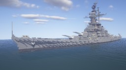 BattleShip「黄龍(ouryu)」 Minecraft Map & Project