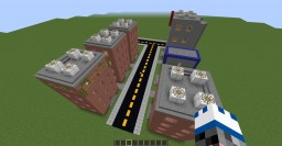 """""""Cool City"""" Minecraft Map & Project"""