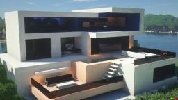 Villa on Beach Minecraft Map & Project