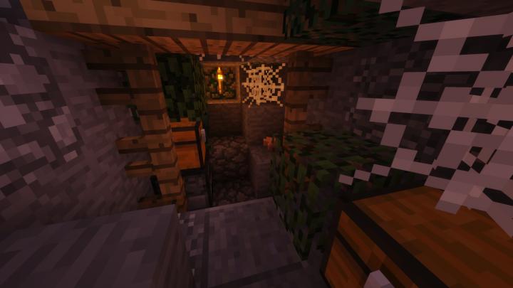 Starting island cave